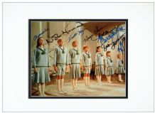 The Sound of Music Cast Signed Photo